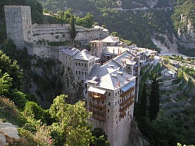 St. Paul's Monastery at Mount Athos. Photo © Peter Brubacher